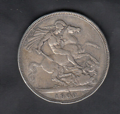 1900 Lxiv Great Britain Silver Crown