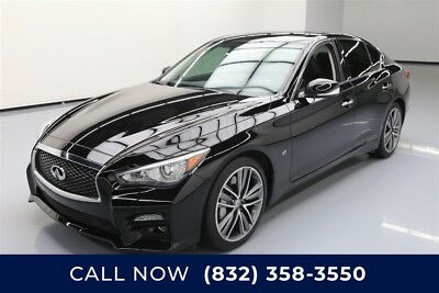 Infiniti Q50 Sport Texas Direct Auto 2015 Sport Used 3.7L V6 24V Automatic RWD Sedan Moonroof Bose