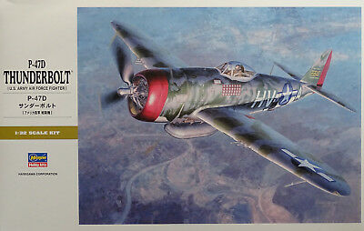 HASEGAWA® 08077 US Air Force P-47D Thunderbolt® in 1:32