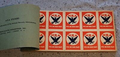 Complete Book Of Nra Stamps - 500 Stamps