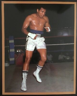 Nice Photograph The Legendary Muhammad Ali Trains Before Spinks Rematch 1978!!
