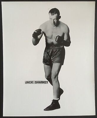 Nice Photograph Of The Great Heavyweight Champion Jack Sharkey In Pose!!