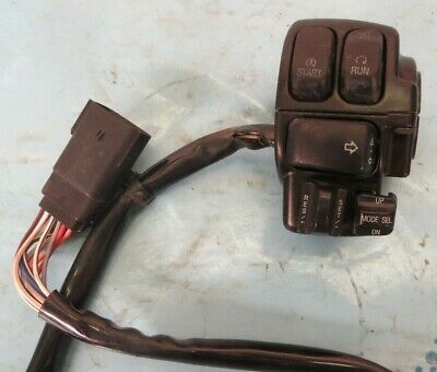2010 Harley-Davidson FLHX OEM Right Clip On Handle Kill/Start Switches #OPS1034