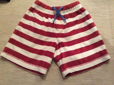 Boys Mini Boden Towelling Shorts Age 9 Years