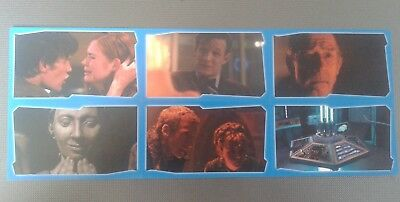 Topps BBC Dr Who Regeneration Set 6 Stickers Eleventh Doctor Clara Oswald New