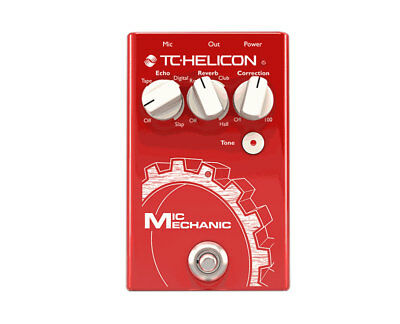 TC Helicon Mic Mechanic 2 Vocal Reverb & Delay