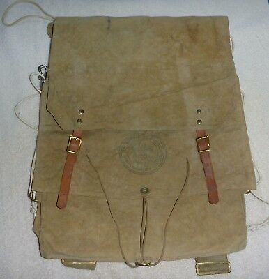 Vintage before 1958 Boy Scouts Of America Backpack 574 Yucca Pack used one time
