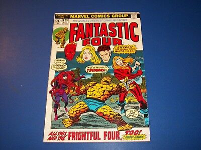 Fantastic Four #129 Bronze Age Solid VGF 1st Thundra