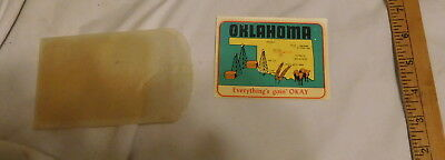 vintage Oklahoma Everython's Goin' OKAY Window Decal sticker