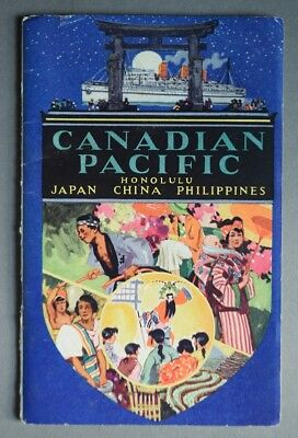 1930 Canadian Pacific Steamships Passenger List & Book - Empress of Canada Ship