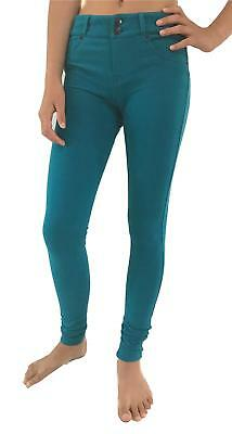 Rip Curl PINS FLEECE PANT Women's Skinny Leg Legging Pants - Teal Rrp $69.99