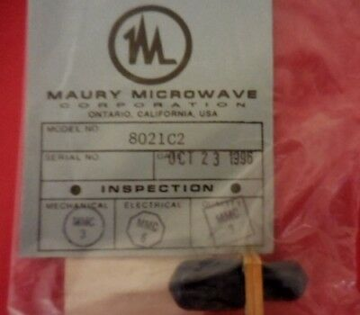 Maury Microwave 8021C2 Precision Certified Adapter 1250-1866