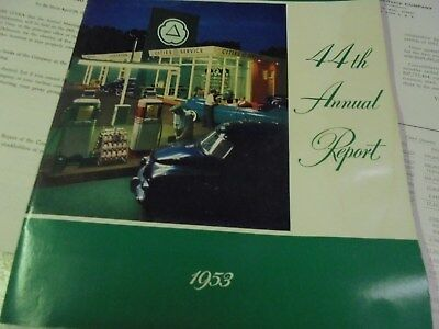 Vintage 1953 Cities Service Annual Report