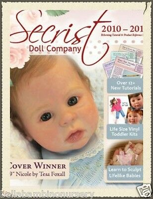 ~2010/11 ReBoRn AnD ScULpTiNg GuiDeBoOk~ REBORN DOLL SUPPLIES