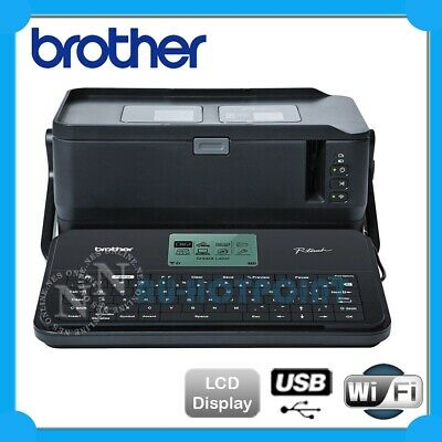 Brother P-Touch PT-D800W Wireless Label Printer Thermal Desktop Labeller3.5-36mm