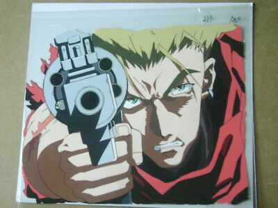 Trigun Vash The Stampede Final Episode Anime Production Cel