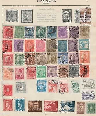 YUGOSLAVIA Collection Early Isssues, Structures, Postage Due etc, As per Scan  #