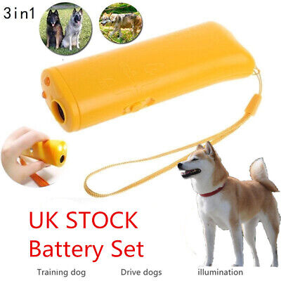 Pet Dog Anti Barking Ultrasonic Tool Puppy Stop Trainer Device Training Repeller