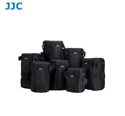 JJC Deluxe Lens Pouch Bag for DSLR Canon Nikon Camera Lens Weather-Resistant