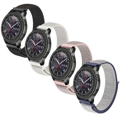 22mm Replacement Nylon Strap Band Wristbands for Samsung Gear S3 Smart Watch