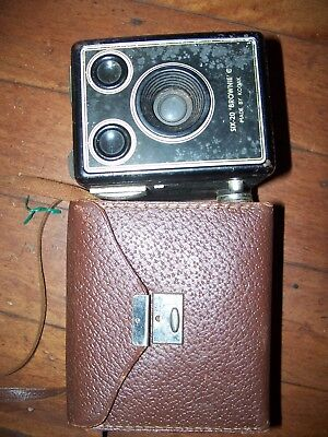 Kodak Camera 6-20 With Case  Made In London