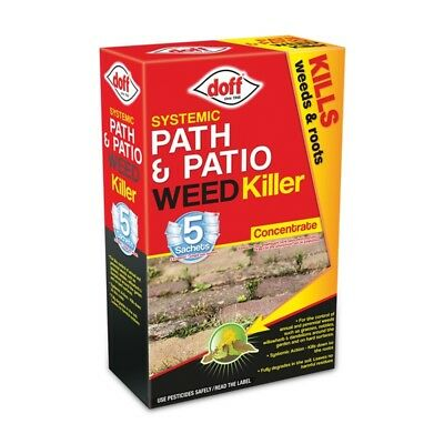 Doff Path & Patio Weedkiller 5 Sachet, 5x100ml