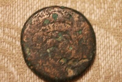 Unidentified Roman Or Greek Empire Bronze Ancient Coin   Two Fish's A76