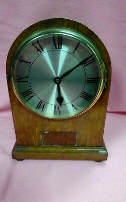 1018 Antique Wooden Mantel Clock Case For Spares Or Repair.