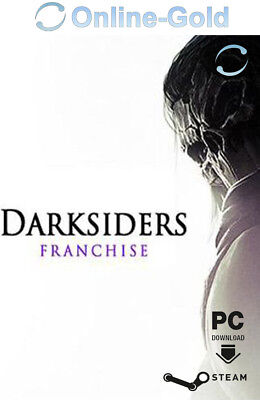 Darksiders Franchise Pack Key - Steam Digital Code PC Spiel RPG Brutal [DE/EU]