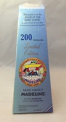 Ravensburger Mad About Madeline 60 Years 200 Piece Eiffel Tower Puzzle Sealed