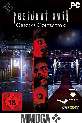 Resident Evil Origins Collection - STEAM Download Code PC Spiel Key Neu - EU/DE