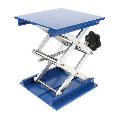 "6"" Laboratory Support Lift Aluminum Oxide Table Lifting Platform Stand Rack"