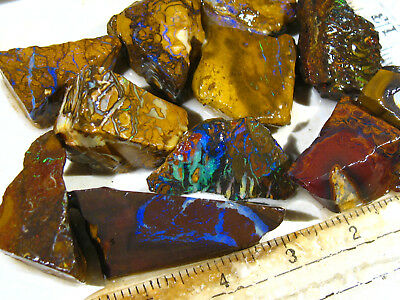 140cts Australien Roh Yowah Koroit Opal Schmuckstein Boulder Rough Lot 224 VIDEO
