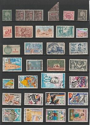 TUNISIA Stamp Collection majority USED Ref:QM58a