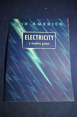1954 Our America Electricity A Modern Power,  Coca Cola with Stickers
