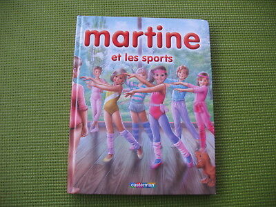 French book * MARTINE ET LES SPORTS * free shipping