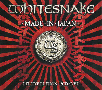 Whitesnake – Made In Japan 2CD/DVD Frontiers Records 2013 NEW/SEALED