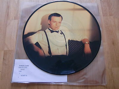 "Gary Numan / This Is Love /  Rare Picture Disc 12"" !!"