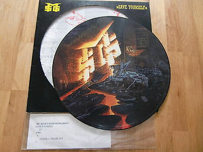"MC Auley Schenker Group / Save Yourself  /  Rare Picture Disc 12"" !!"