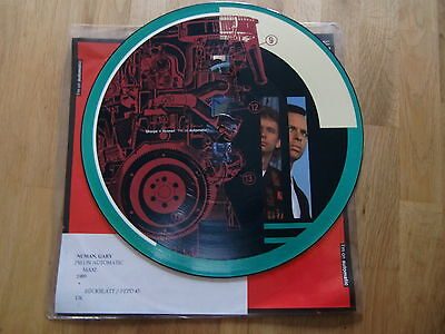 "Gary Numan / I'm On Automatic  /  Rare Picture Disc 12"" !!"