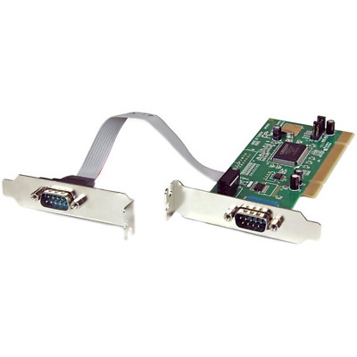 StarTech.com PCI2S550_LP 2 Port PCI Low Profile RS232 Serial Adapter Card with