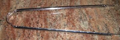 "Vintage New NOS Wald 24 M 24/"" Satin Fender Braces Pair"