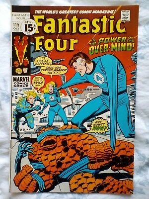 Fantastic Four 115 (1971) 1st app and Origin of the Eternals