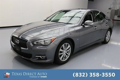 Infiniti Q50 Premium Texas Direct Auto 2015 Premium Used 3.7L V6 24V Automatic RWD Sedan Bose