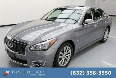 Infiniti Q70 3.7 Texas Direct Auto 2015 3.7 Used 3.7L V6 24V Automatic RWD Sedan Premium Moonroof