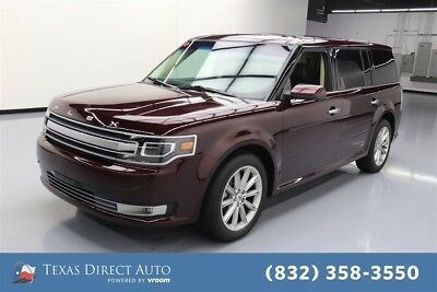 Ford Flex Limited Texas Direct Auto 2017 Limited Used 3.5L V6 24V Automatic AWD SUV