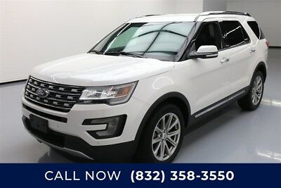 Ford Explorer Limited Texas Direct Auto 2017 Limited Used 3.5L V6 24V Automatic 4WD SUV Premium