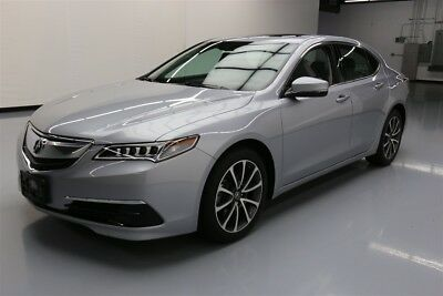 Acura TLX V6 w/Technology Pkg Texas Direct Auto 2017 V6 w/Technology Pkg Used 3.5L V6 24V Automatic FWD Sedan