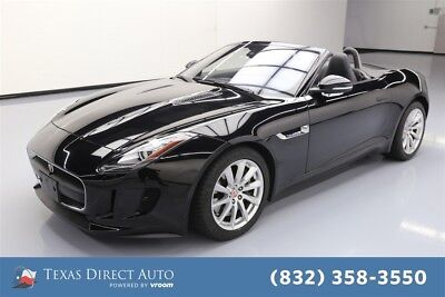 Jaguar F-Type 2dr Convertible 8A Texas Direct Auto 2017 2dr Convertible 8A Used 3L V6 24V Automatic RWD Premium