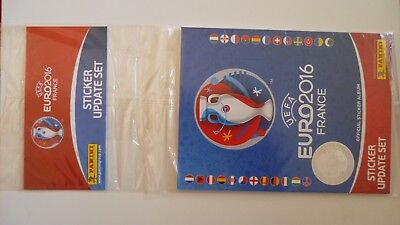 Rare Panini Set Mise A Jour Update Euro 2016  Neuf